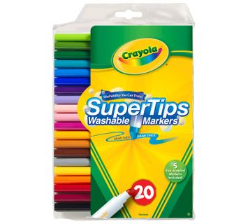 Crayola Washable Super Tips with Silly Scents