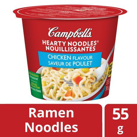 Campbell S Campbell's Hearty Noodles Chicken Flavour