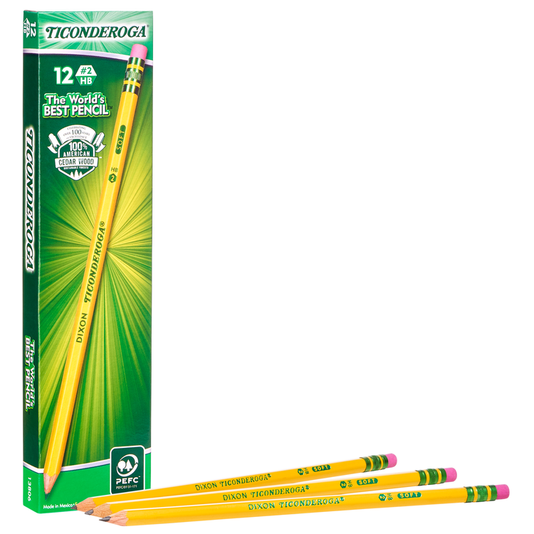 Classic Yellow Wood-Cased Pencils