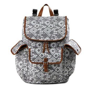 Baby Boom BB Gear Aztec Print Back Pack Diaper Bag