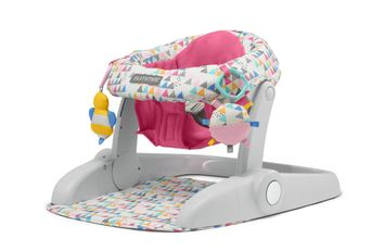 Learn-to-Sit 2-position Floor Seat (Funfetti Pink)