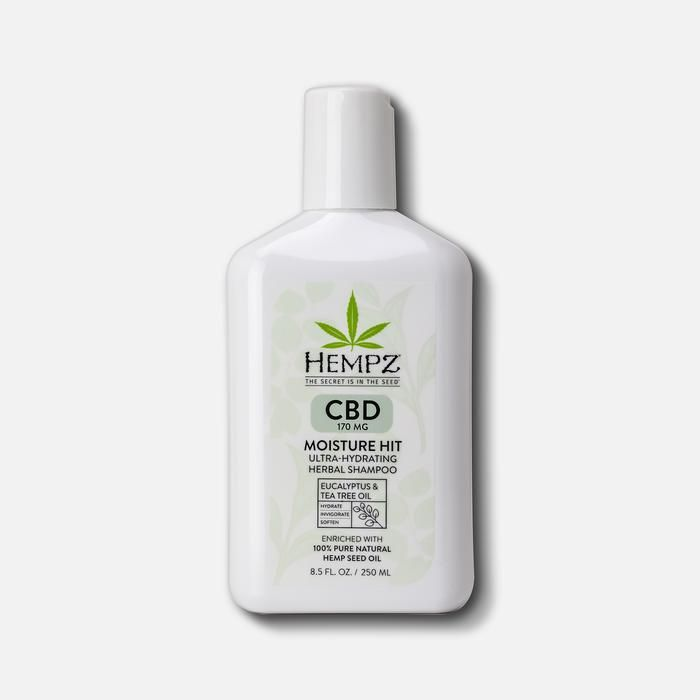 Hempz CBD Moisture Hit Ultra-Hydrating Herbal Shampoo