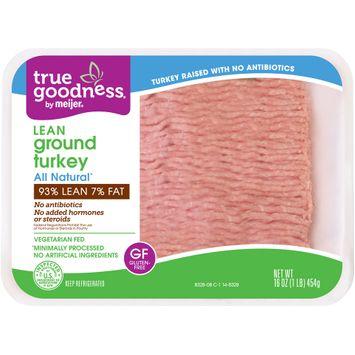True Goodness® by Meijer® Lean Ground Turkey
