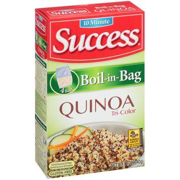 Success® Boil-in-Bag Tri-Color Quinoa