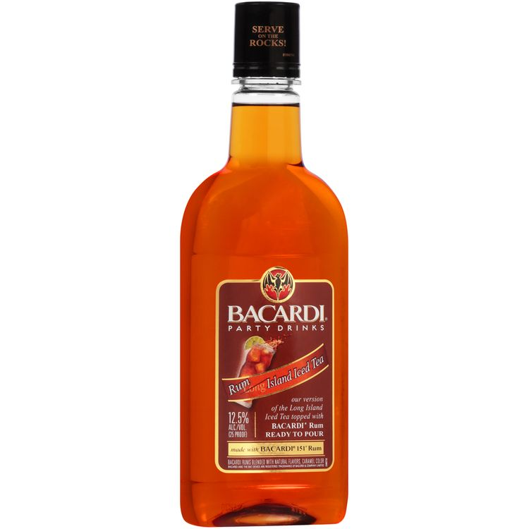 Bacardi® Party Drinks Rum Island Iced Tea Cocktail 750mL