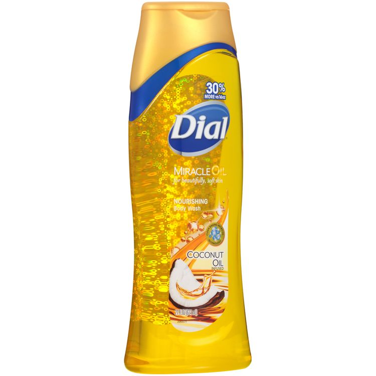Dial® Miracle Oil Coconut Oil Infused Nourishing Body Wash