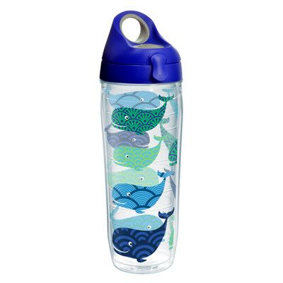 Tervis Tumbler Company Sun and Surf Whales Water Bottle 24 oz. Tumbler