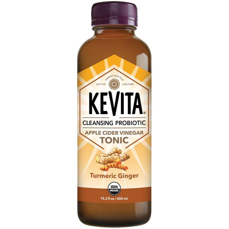 Kevita® Turmeric Ginger Cleansing Probiotic Apple Cider Vinegar Tonic