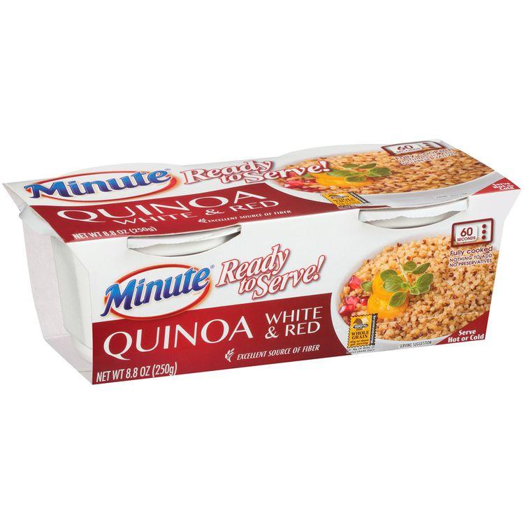Minute® Ready to Serve! White & Red Quinoa