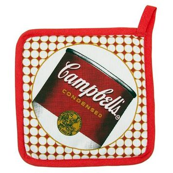 Golden Rabbit Campbell's Soup Pot Holder