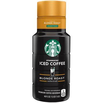 Starbucks® Unsweetened Blonde Roast Iced Coffee