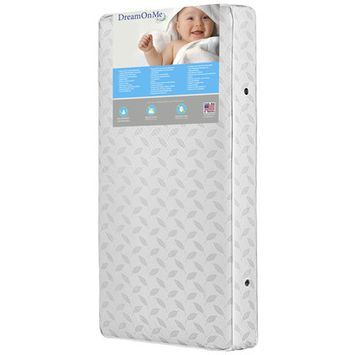 Dream On Me Industries Inc Dream On Me BR-132 Breathable 132 Premium Coil Inner Spring Standard Crib And Toddler Mattress