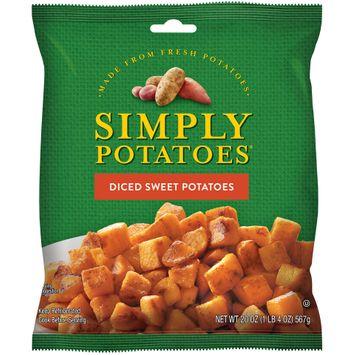 simply potatoes® diced sweet potatoes