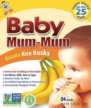 Baby Mum-Mum Rice Rusks - Banana