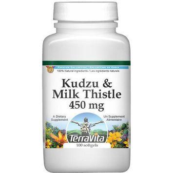Kudzu and Milk Thistle Combination - 450 mg (100 capsules, ZIN: 513432)