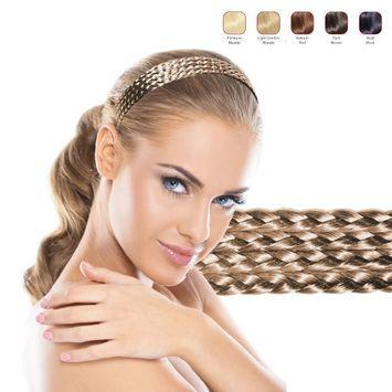 Hollywood Hair Multiple Braids Headband - Light Golden Blonde