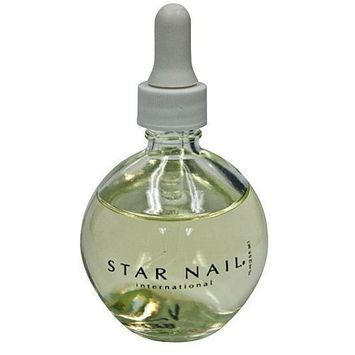 Star Nail 2.5 oz. Aromatherapy Scented Cuticle Oil - Vanilla Berry