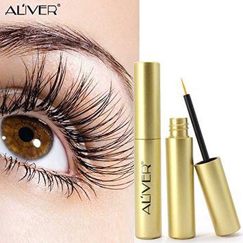 Aliver Eyelash Growth Serum Eyebrow Growth Enhancer for Rapid Grow Longer Thicker Fuller Eyelashes and Eyebrows (G