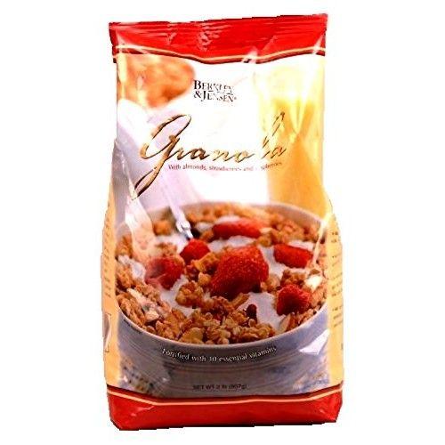 Berkley & Jensen Granola with Almonds, Strawberries and Raspberries, 2 Pound
