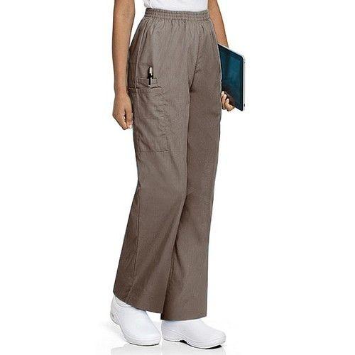 Landau Women's Cargo Pant Scrub Bottoms