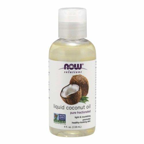 NOW Solutions, Liquid Coconut Oil, 4-Ounce