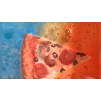 Pizza Bath Bomb, Looks and Smells Exactly Like PIZZA! Makes Great Gift for Pizza Lovers!!!! World Famous PIZZA BATH BOMB!!!!! GET IT WHILE ITS HOT!!!