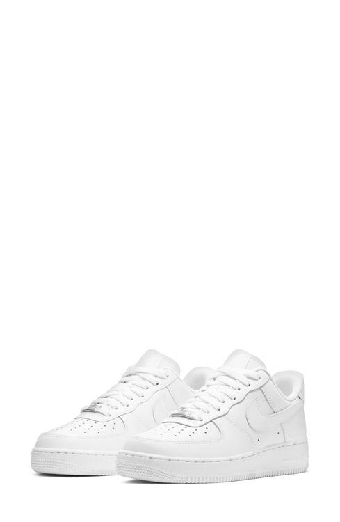 Women's Nike Air Force 1 Sneaker, Size 8 M - White