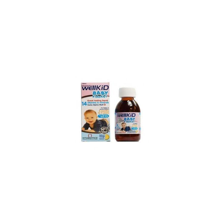 Vitabiotics Wellbaby Multi-vitamin Liquid, 150ml