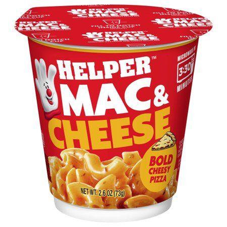 Betty Crocker Helper Mw Chsy Pza Mac & Cheese Cups