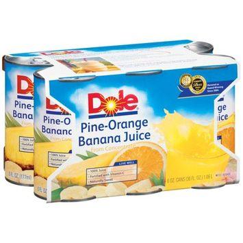 Dole Canned Pineapple Orange Banana Juice