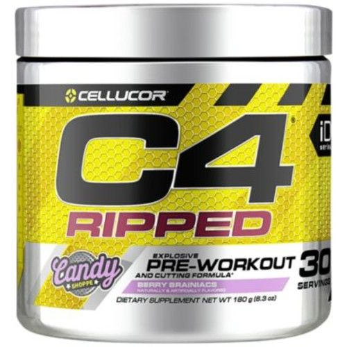 C4 Ripped Berry Brainiacs - BERRY BRAINIACS (180 Grams Powder) by Cellucor at the Vitamin Shoppe