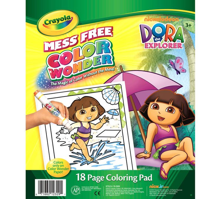 Crayola Color Wonder Coloring Pad - Dora the Explorer