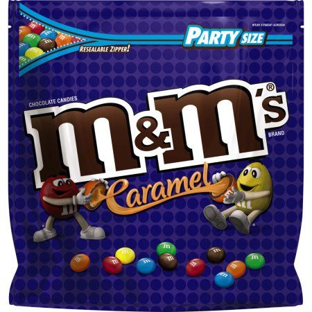 Mars Snackfood M'S Caramel Chocolate Candy Party Size 38-Ounce Bag