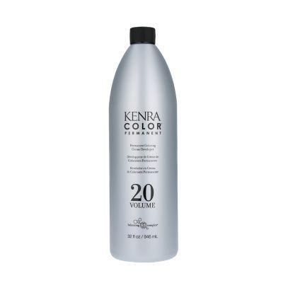 Kenra Color Permanent Coloring Creme 20 Volume Developer