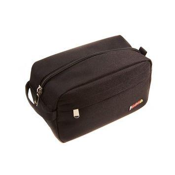 RevoSnap Time Traveler, Toiletry Bag for Men, Travel Shaving Kit, Dopp Kit, Large-Size, Travel Toiletry Organizer, Water Resistant Ballistic, Padding Prevents Breakage, 4 Compartments, Carry On Kit