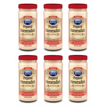 Silver Springs, Prepared Horseradish 8 oz (6 Pack)