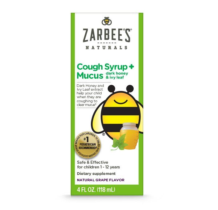 Zarbee's Children's Cough Syrup + Mucus*