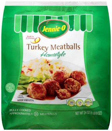 Jennie-O Fully Cooked Home Style Turkey Meatballs