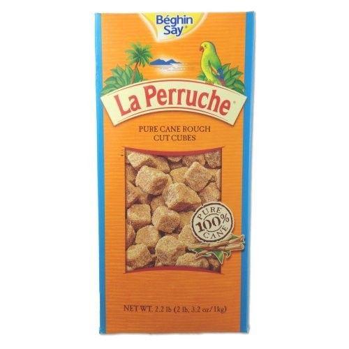 La Perruche Rough Cut Brown Sugar Cubes - 750 grams/26.5 oz - pack of 2