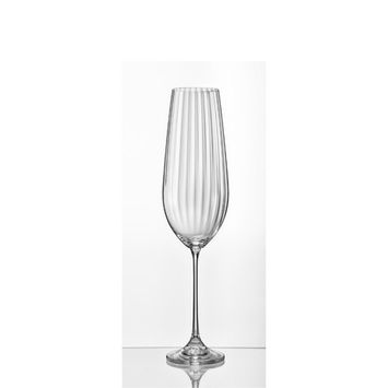 Viola Optic White Wine Glass 11.75 Oz, Set of 6