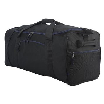 Travelers Club Luggage, Inc. Protege 32in Compactible Rolling Duffel - Black