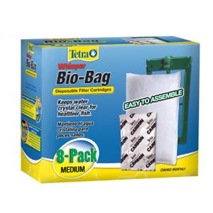 Tetra Whisper® Bio-Bag® Replacement Cartridge (Unassembled)