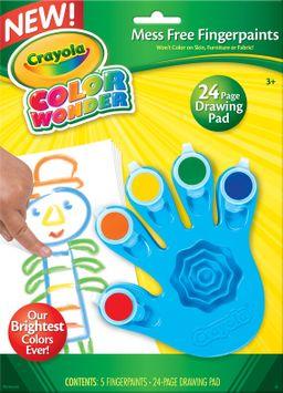 Crayola Color Wonder Fingerpaints
