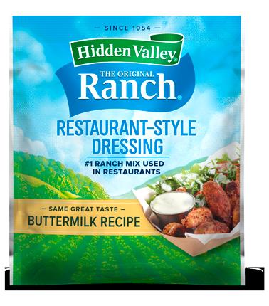 Hidden Valley®  Buttermilk Recipe Salad Dressing & Seasoning Mix