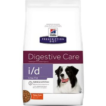 Hill's Prescription Diet i/d Low Fat Canine Digestive Care Chicken Formula Dry Dog Food