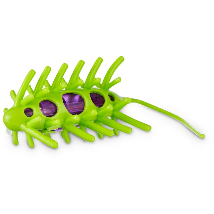 Leaps & Bounds Wiggle Bug Cat Toy, Green