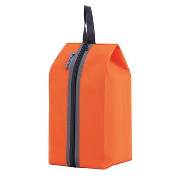 Orange Portable Storage 600D Waterproof Nylon Hook Shoe Bag Multifunction Travel Tote Storage Bag Organizer Container