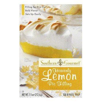 Southern Gourmet Lemon Pie Filling Mix, 7.5 OZ (Pack of 6)