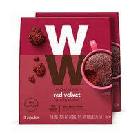 WW Red Velvet Mug Cake - High Protein, 3 SmartPoints - 2 Boxes (6 Count Total) - Weight Watchers Reimagined