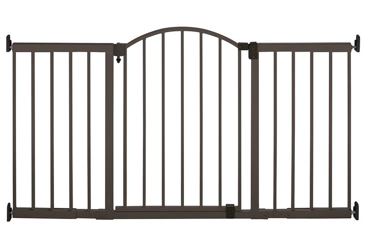 Summer Infant Metal Expansion 6 Foot Wide Extra Tall Walk-Thru Gate
